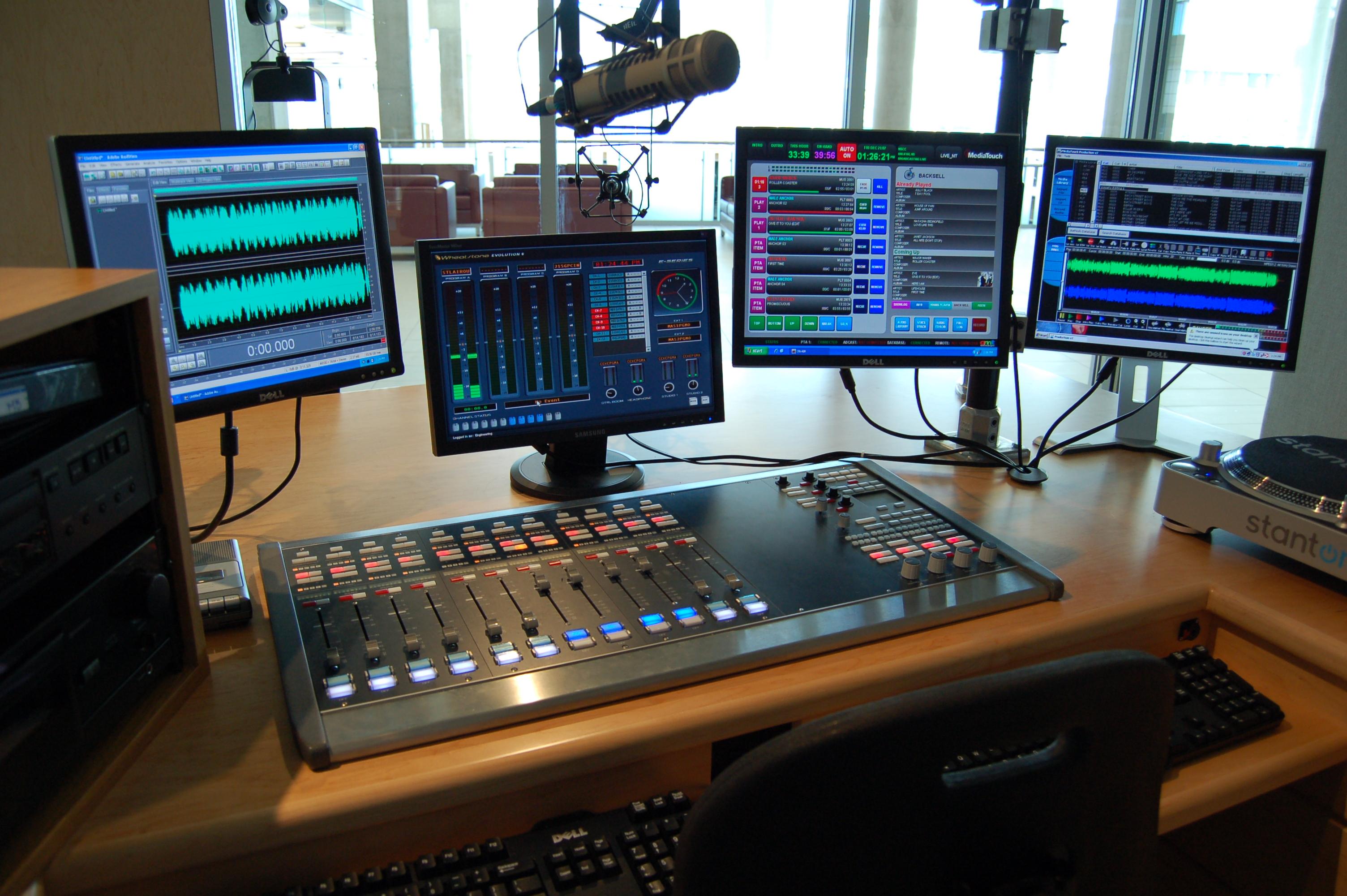 NSCC Radio Studio